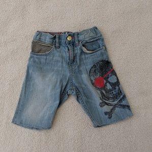 Pirate Jean Shorts